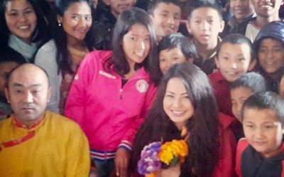 Heres what Ex Miss Nepal Malvika Subba said after her visit to our school